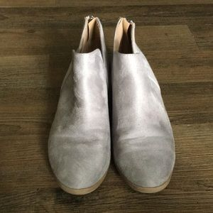 Gray Booties - 8